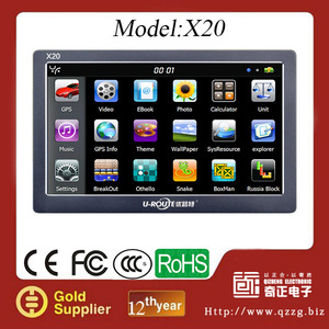 Promotional Car GPS Navigation for gifts!! Cheap GPS with 256MB+8GBFlash+Bluetooth+AVIN+TMC.