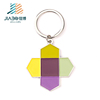 Custom metal soft enamel key charms designer