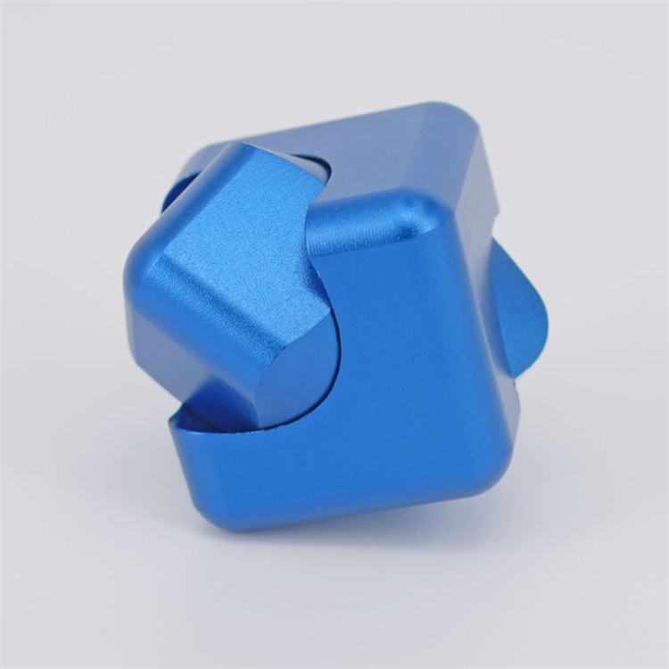 Hand Spinner Cube, Anti-Anxiety Fingertip Gyro Spinner Finger Toy Stress Reduce Toy Improves Focus for Children Adults