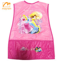 Hottest promotional PVC children painting apron