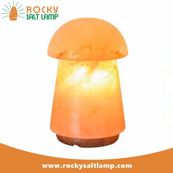 Rock Salt Lamp himalayan crystal salt