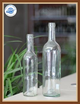 093a81fb172d 375ml 750ml Customized Flint Clear Bordeaux Wine Glass Bottles With Cork  Top/screw Cap/twist Off Cap - Buy Bordeaux Wine Glass Bottle,Flint Clear ...
