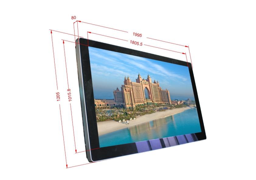 samsung tv 82. ukuran besar dengan samsung merek 4 k full hd iklan layar sentuh tv 82 inch lcd