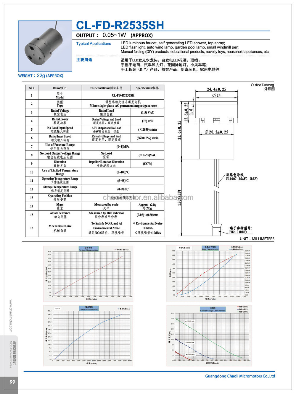 Strong Adaptability Excellent Performance Low Energy Consumption Magnetic Generator Diagram 10kw Cl Fd R2535sh With