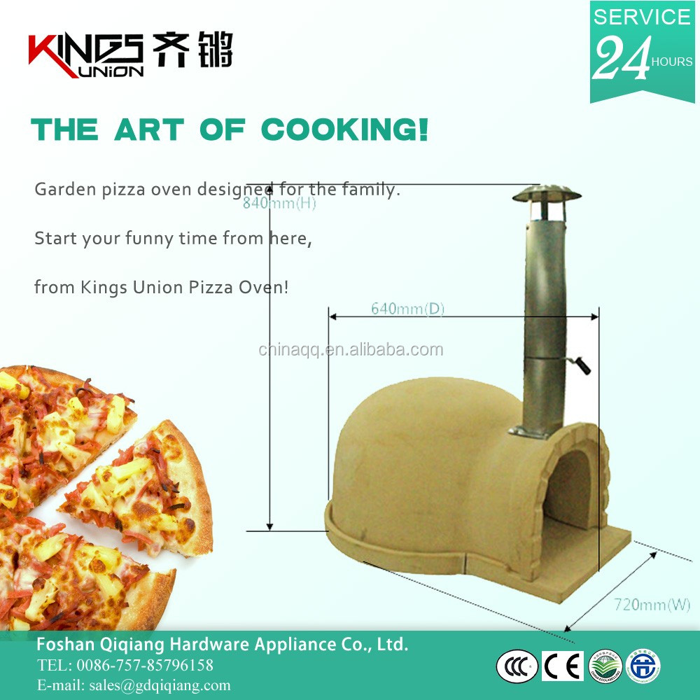 Ku-001 Homemade Brick Pizza Oven With Thermometer - Buy Ku-001 ...