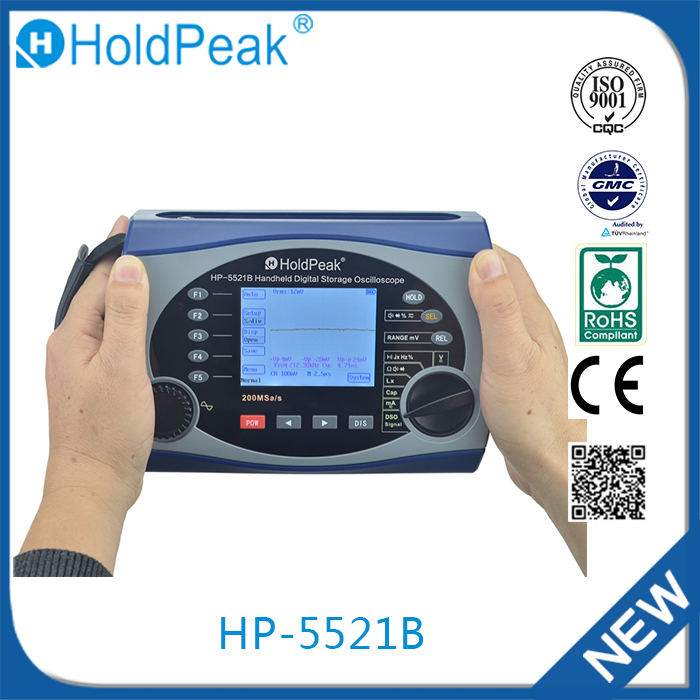 HP-5521B Wholesale From China Portable High Accuracy Handhelddigital Storage Oscilloscope