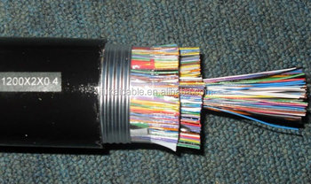 25 pair jelly filled underground telephone Cable