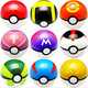 7cm monster pokemon toys children's cheap go poke kids ball toys