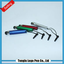 Factory offer stationery metal touch stylus pen designer mini pens