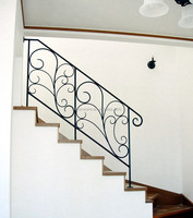 metal handrails for porch steps