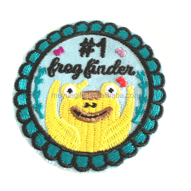 Wholesale china custom embroidery patches