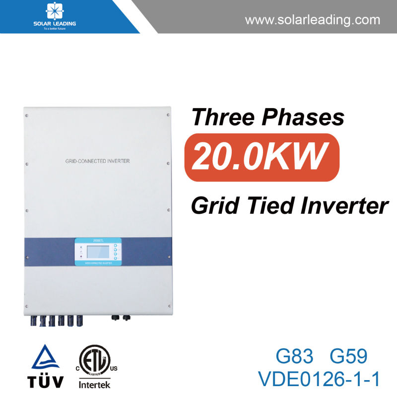 New design 20kw Grid Tie Power Inverter with solar panels 250w for photovoltaic panel system