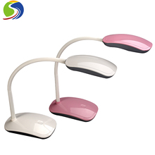5w wireless gooseneck led table lamp with 2400mah lithium battery