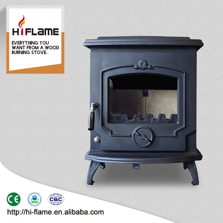 HiFlame Cast Iron wood burning stove 7KW made in China fireplace HF233
