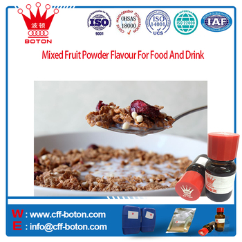 Mixed Fruit Powder Flavour For Food And Drink