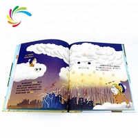 Custom Luxury Printing Kids Hard Cover Story English Comic Child Book