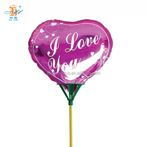 "Wholesale inflating 18"" heart helium foil balloon for valentines day"