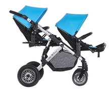 3 In 1 Twins baby stroller with car seat,Double baby stroller/pram,Before and after sitting