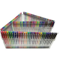 200 Piece Gel Pen Set - 100 Pens PLUS 100 Refills