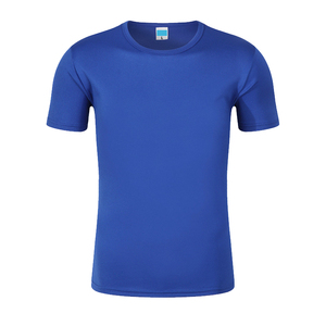 Custom print logo OEM polyester quick dry fit running t-shirt men running tee shirt
