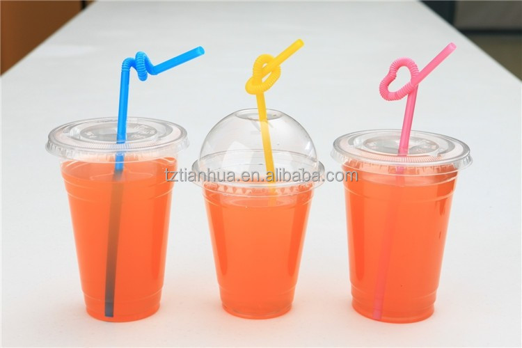 disposable clear plastic lid for cups, dome lid, flat lid