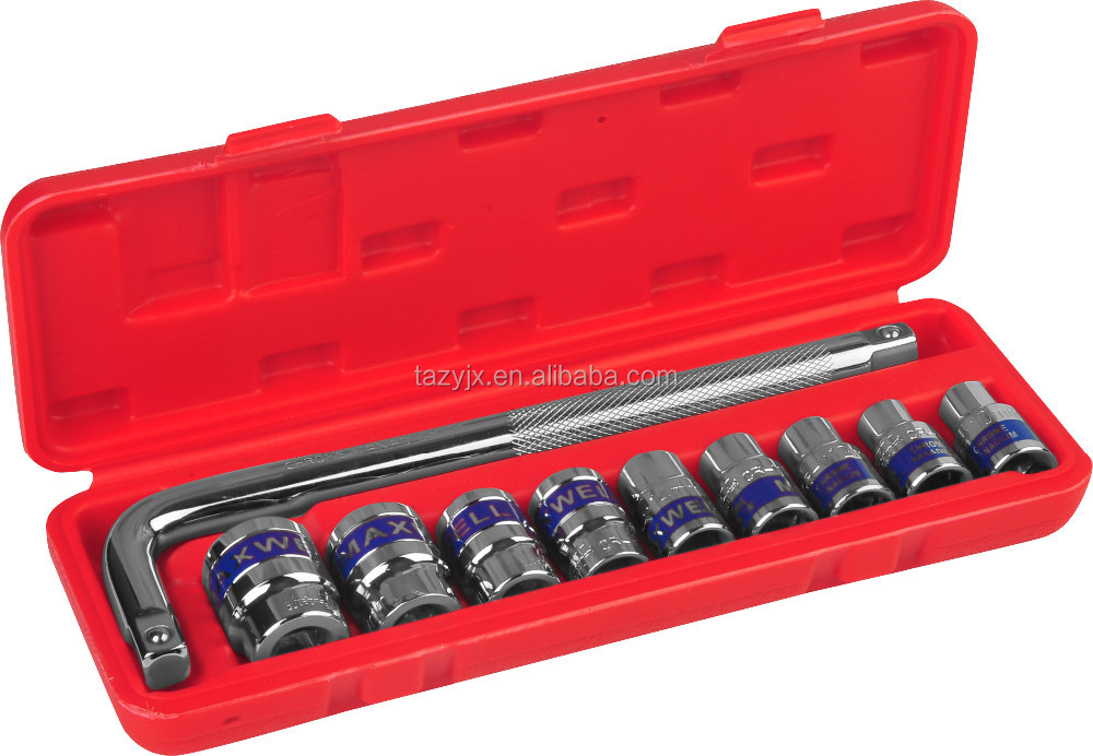 "1/2"" Hand Tools Socket Wrench Combined box spanner socket set,hand tools"
