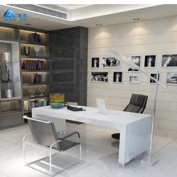 Modern Office Furniture White Office Table Luxury Boss Office Desk Designs  - Buy Luxury Boss Office Desk,White Office Table,Luxury Boss Office Desk ...