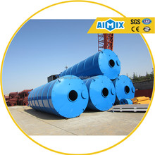 CE Approved!!! q235 steel welded cement silos for concrete mixing plant