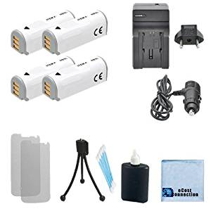 Replacement Charger for Canon NB-12L NB-13L Batteries Canon PowerShot G7 X Digital Camera Battery Charger 110//220v with Car /& EU adapters