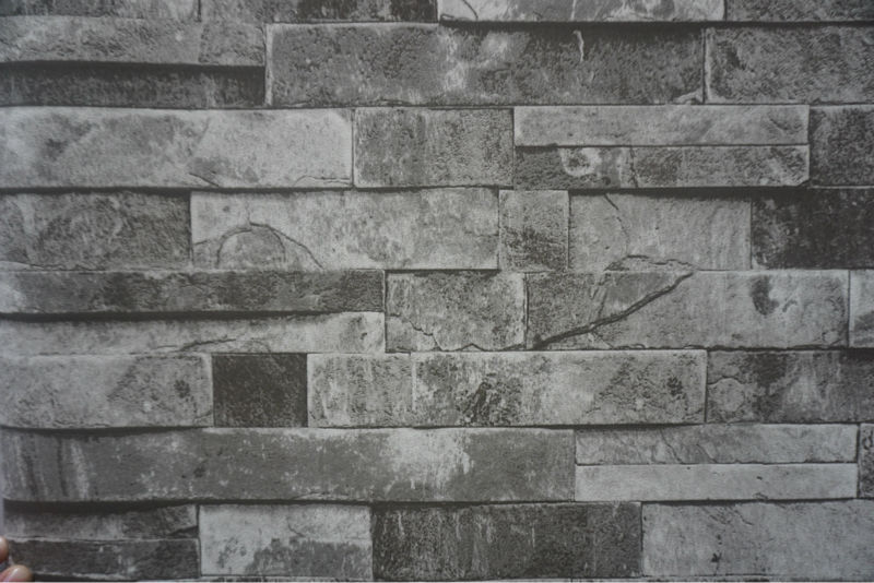 3d stone wallpaper for home decoration buy decorative for 3d rock wallpaper