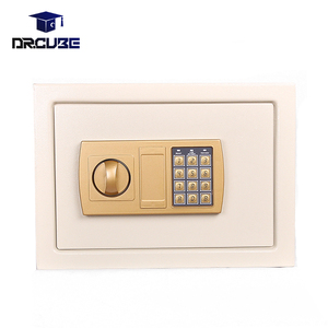 Wall mount cheap money safe box home personal electronic digital lock security safes