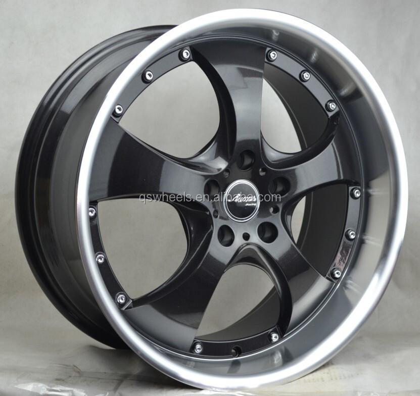 Car Wheels Deep Dish Alloy Wheel Rim China Wheel 5 Spoke 5x114 3