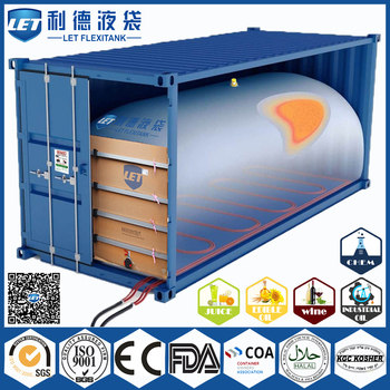 certificated and best price container flexitank / flexibag for rubber latex
