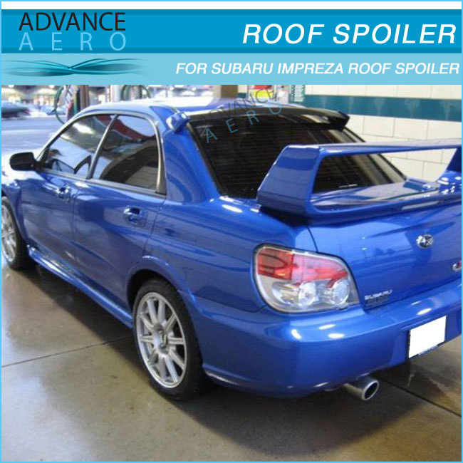 Carbon Fiber Roof Spoilers For 2002 2003 2004 2005 2006