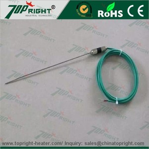 High Quality Stainless Steel High Temperature 0 To 1200 Degree Thermocouple K Type 100mm Probe SensorsHigh Quality Stainless