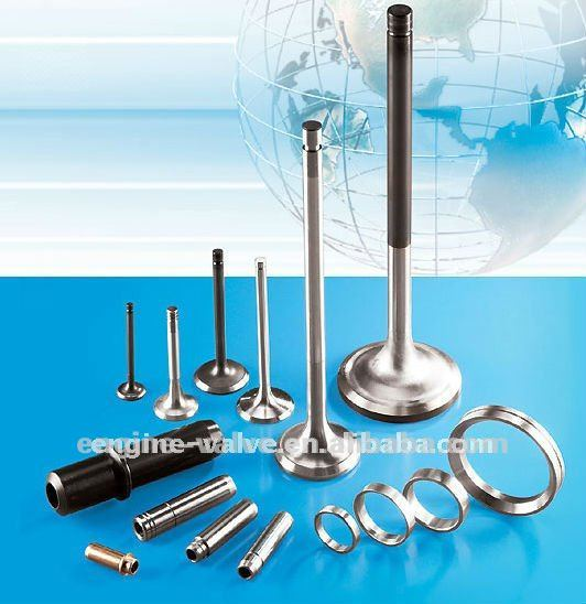intake and exhaust valves/engine parts factory for J.C.C