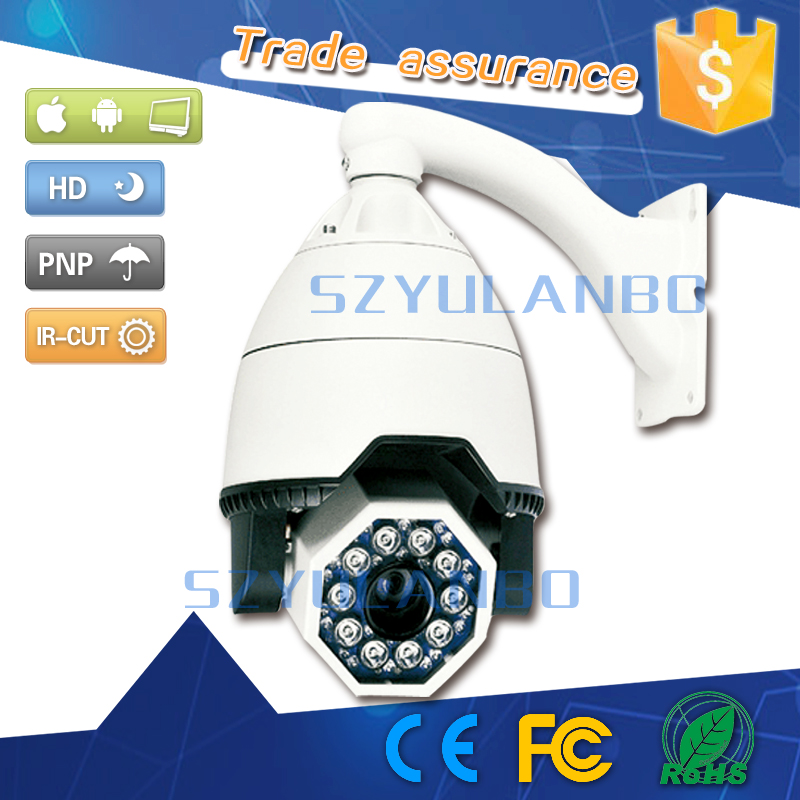 high speed analog network ptz mini dome camera