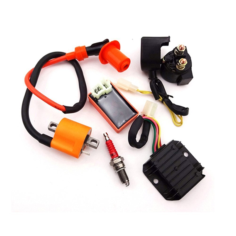Buy Tc Motor Racing Ignition Coil Ac Cdi D8tc Spark Plug 200cc Chinese Atv Wiring Regulator Rectifier