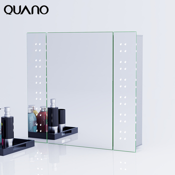 Stylish Illuminated Bathroom Mirror Cabinet With LED Light