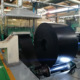 NN EP630/4 Durable wear resistant conveyor belting old black rubber conveyor belts