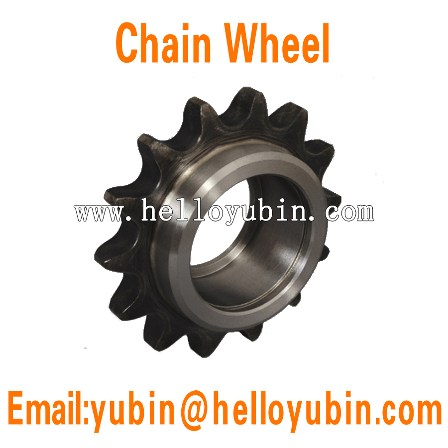 SGS supplier assessment custom-made aluminum alloy chain pulley/wheel/sprocket