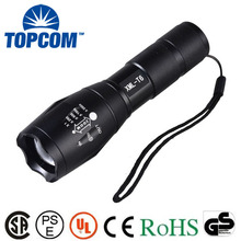 Aluminum Portable Blink 10W LED Flash Light Torch Light Zoom SMD Police Tactical G700 LED Flashlight