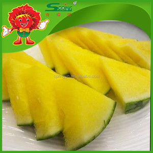 ripe molen type fresh yellow watermelon year round cheap price in market