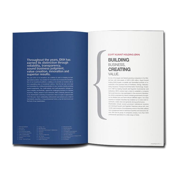 Custom hot sell full color custom magazine catalog printing service