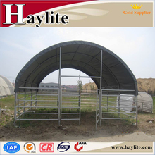 Economic PVC fabric Prefab Portable Horse Cow Animal Shelter with CE Certificate