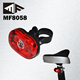 2 RED LED+0.5W SMD AAA Battery Operated Led Bike Tail Light