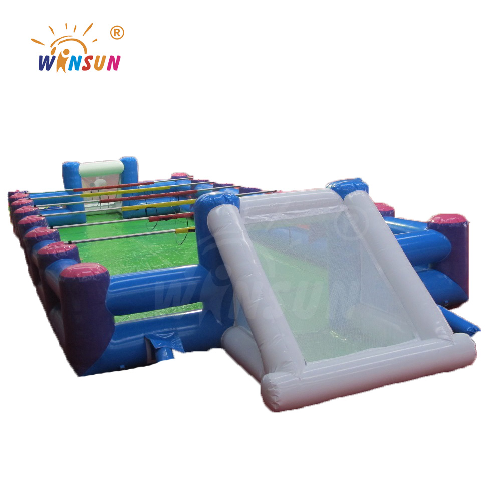 worlds popular inflatable soccer field, used football field equipment, portable football field
