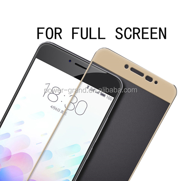 Anti-explosion Silk printing FULL cover Tempered glass screen protector for LeEco Letv Le 2 X620/Le 1S X500