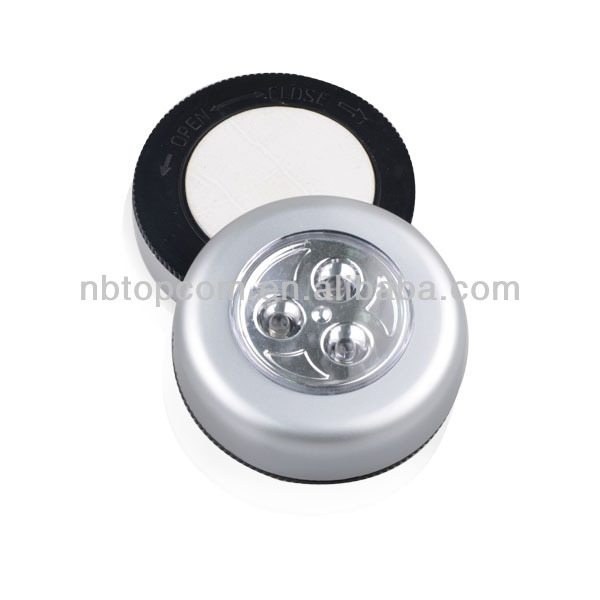 Plastic 3 Led Touch Light Push Lamp/super Bright Ultra Value 3 Led ...