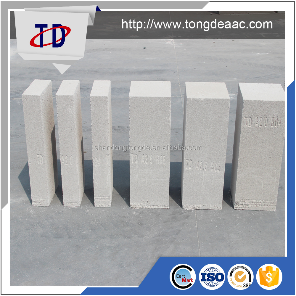 Building Autoclaved Aerated Concrete Block Price